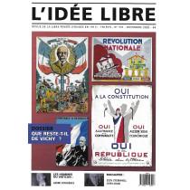 Idée Libre n° 331 - Que...