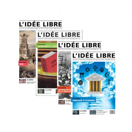 Idée Libre 317 - Marianne, la croix et le croissant
