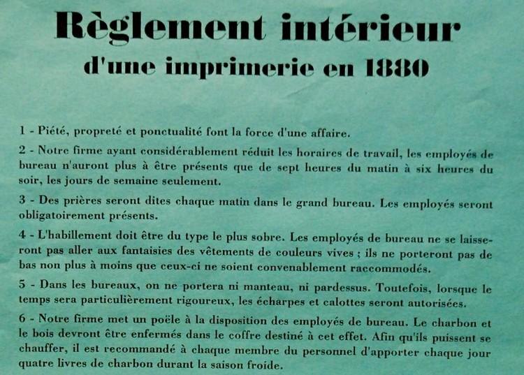 Le Reglement Interieur Dune Entreprise Groupe Sister
