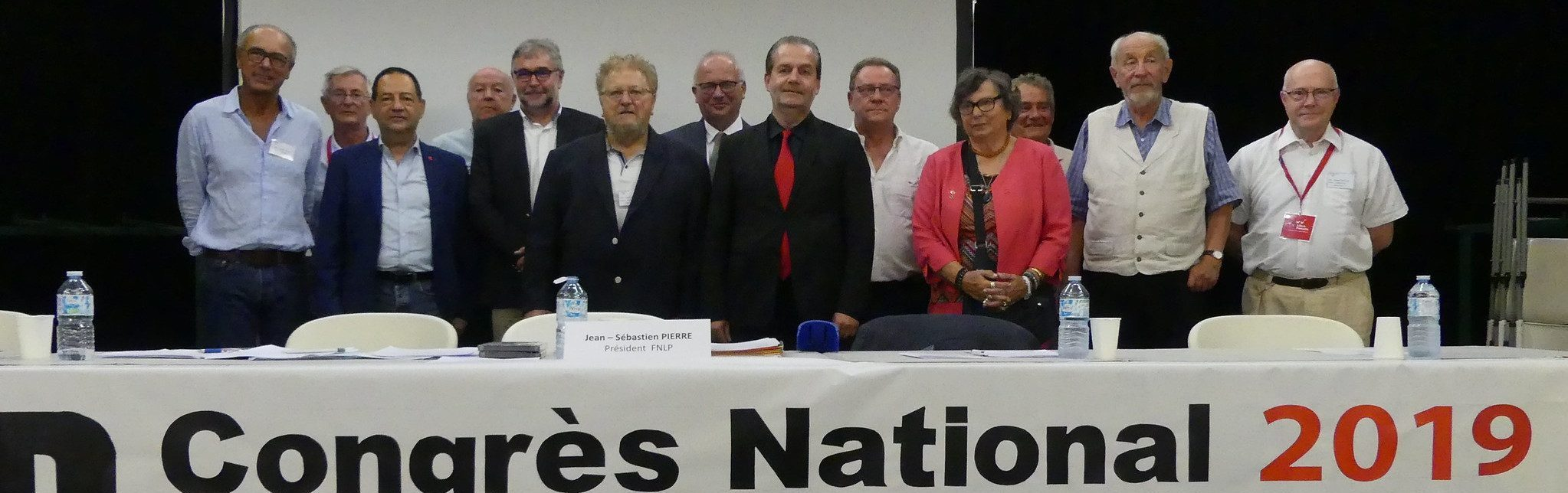 Les associations amies au congrès national d'Alizay (2019)