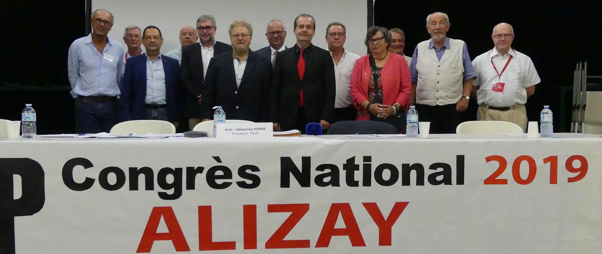 Les associations amies au congrès national d'Alizay (2019)