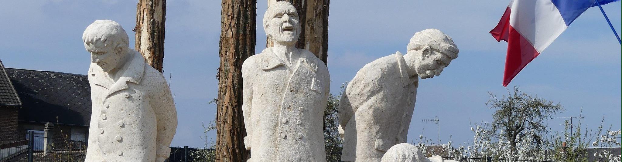 Monument aux fusillés pour l'exemple (Chauny - Aisne)
