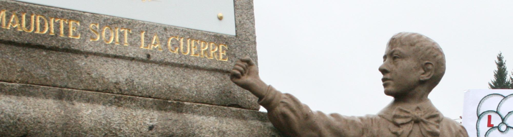 Monument de Gentioux rassemblement 11 novembre 2010